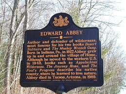 edward abbey historical marker