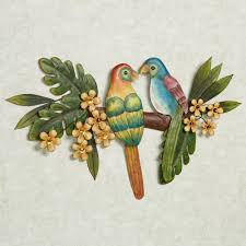 Parrot Decorations Home by Tropical Wall Art Touch Of Class