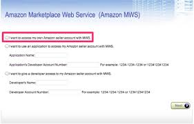 Click And Grow Amazon Amazon Seller Central How To Connect No Mws Developer Account
