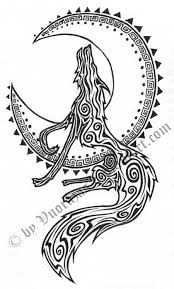 Wolf Indian Tattoos - indian wolf by vuorazas on deviantart