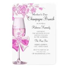 chagne brunch invitations s day pretty pink chagne brunch 2 5 7 paper
