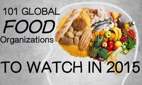 101 global food organizations to watch in 2015