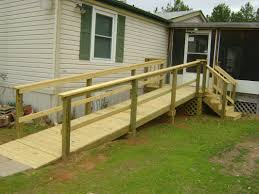 wheelchair ramps for mobile homes u2013 home decoration