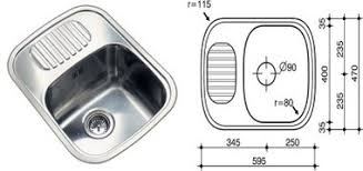 Kitchen Sinks Small Nasto Single Bowl Kitchen Best Small Kitchen Sink With Drainer