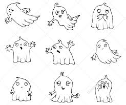 ghost vector pack contains cartoon vectors perfect for