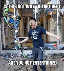 angry vancouver fan angry asian rioter know your meme