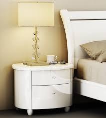 White Gloss Bedroom Drawers Birlea Aztec Nightstand High Gloss White Amazon Co Uk Kitchen