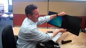 the ergonomics guy dual monitor ergonomics setup so they aren u0027t