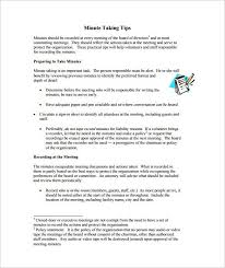 taking minutes format meeting minutes templates for word 12