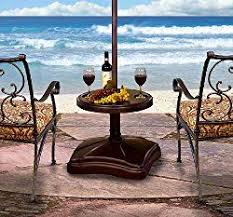 umbrella stand table base patio umbrella bases your guide to getting the right umbrella