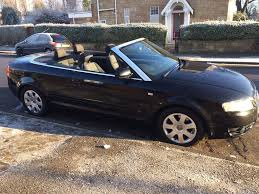 audi convertible 2006 audi a4 1 8 turbo automatic convertible 2006 reg full black with