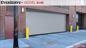 Overhead Rolling Doors Springless Rolling Service Door Everserve From Overhead Door