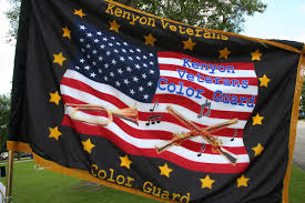 Color Guard Flags Proud To Be An American In Kenyon Minnesota Minnesota Prairie Roots