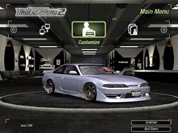nissan silvia 2018 need for speed underground 2 cars by nissan page 2 nfscars