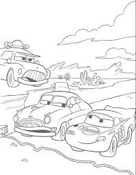 pixar cars coloring pages