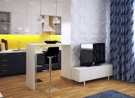 interior design of one room apartment 27 sq m architecture u0026 design