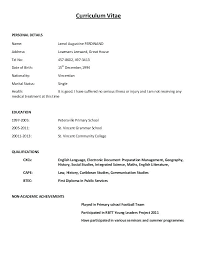 cv resume sample pdf sample of cv and resume 8 curriculum vitae format examples memo