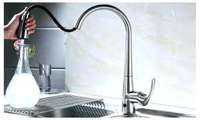 sensor faucet kitchen touchless kitchen faucet awe inspiring kitchen faucets kitchen
