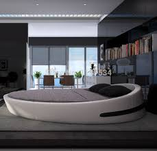King Size Bedrooms Bedroom Furniture King Size Large Round Soft Bed Leather Plush