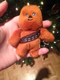 we been putting this chewbacca in the x tree for