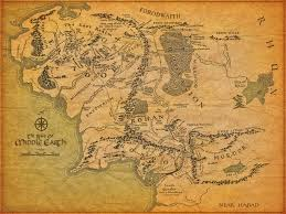 The Map Of America by An Artist Drew A U0027lord Of The Rings U0027 Style Map Of America And It