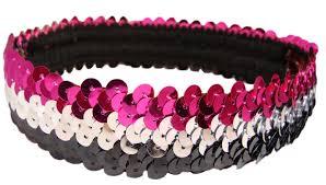sparkly headbands sequin stretch headbands 1 stretch sequin headband sparkly