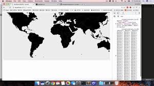 World Map App by Making A World Map With D3 Topojson And A Csv Youtube
