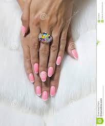 tangled female fingers with nice nails stock photo image 57570604