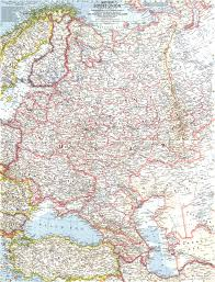 Ussr Map 1959 Western Soviet Union Map Historical Maps
