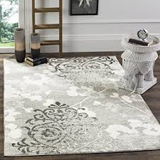 Damask Kitchen Rug Safavieh Adirondack Collection Adr114b Silver And