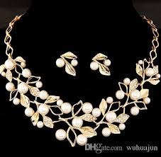 bridal jewelry 2018 beautiful bridal jewelry women necklace earring set