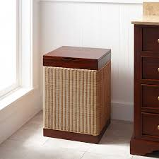 Round Laundry Hamper by Furnitures Remarkable Laundry Hamper With Lid For Chic Home