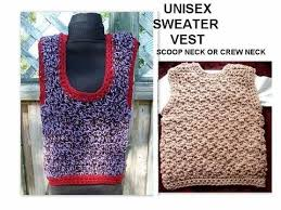 sweater vest for boys crochet a vest unisex any size toddler children crew