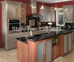 maple wood kitchen cabinets maple wood birch wood rubber wood kitchen cabinet in kitchen
