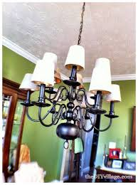 Spray Painting Brass Light Fixtures Up Cycled Chandelier High Heat Spray Paint Bronze Finish And
