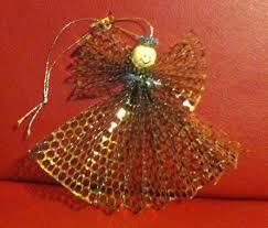 honeycomb ribbon ms nancy s nook honeycomb ribbon angel ornament