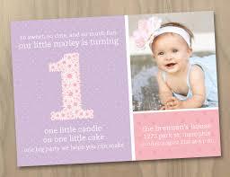 baby girl 1st birthday ideas birthday invites attractive 1st birthday invitations girl ideas