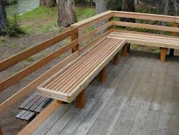 wood deck bench designs wood deck stairs designs house designing