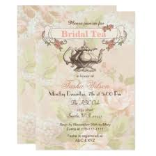 bridal tea party invitation vintage blush floral bridal tea party invites