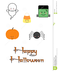 halloween clipart cute cute halloween characters royalty free stock photography image