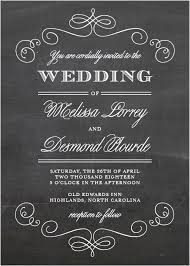 chalkboard wedding invitations wedding invitations match your color style free