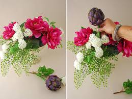 silk flower arrangements flower arranging basic flower arrangements