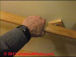 Definition Banister Handrails Guide To Stair Handrailing Codes Construction U0026 Inspection