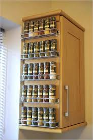 wall mounted spice rack cabinet kitchen captivating spice racks door mounted kitchen cabinets rack