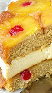 pineapple upside down cheesecake cake recipe cheesecake cake