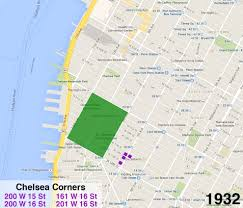 Map Of Manhattan Neighborhoods The 200 Year History Of Chelsea U0027s Ever Expanding Borders Curbed Ny