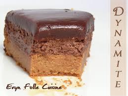 chocolat cuisine le dynamite gâteau caramel chocolat eryn et sa folle cuisine