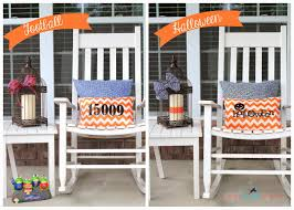 a glimpse inside 25 fall u0026 halloween front porch decorating ideas