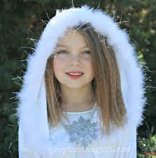 Hooded Halloween Costumes Diy Snow Princess Halloween Costume
