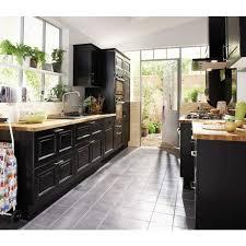 alinea cuisine plan de travail plan de travail alinea 14 cuisine noir en bouleau massif lapeyre